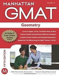 Geometry GMAT Strategy Guide (Manhattan GMAT Strategy Guides) by Manhattan GMAT (2012) Paperback