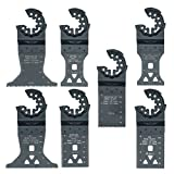 7x topstools stlka7Mixed Klingen für Bosch Fein Starlock Plus Max AUTOCLIC Multi Tool Zubehör