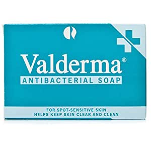 Valderma Antibacterial Soap (100g, For Spot-Sensitive Skin)