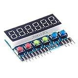 Sharplace Digital LED 8-Segment Display Modul Uhr Anzeige für Arduino