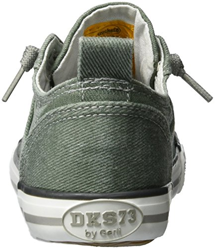 Dockers by Gerli 36vc606-790840, Sneakers Basses Mixte Enfant Vert (Oliv 840)