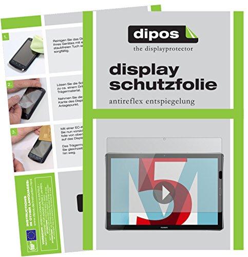Preisvergleich Produktbild dipos I 2X Schutzfolie matt kompatibel mit Huawei Mediapad M5 Pro 10 Zoll Folie Displayschutzfolie