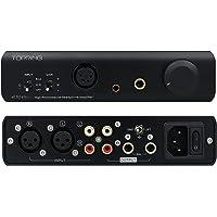 Topping A30 Pro Amplificatore per cuffie bilanciato 4PIN XLR 4,4 mm 6,35 mm Amplificatore di ingresso bilanciato 6000 mW x 6000 mW Uscita NFCA Amplificatori per cuffie Amplificatori audio (Nero)