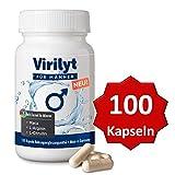 NEU: VIRILYT© FÜR MÄNNER: 100 Kapseln Potenzmittel alternativ │Deutsches Marken Potenz-Mittel │trägt zur...