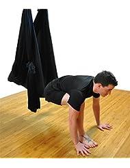 Kits de Yoga Yoga Anti-gravité Hamac-Yoga Hamac Pilates Équipements de Danse Aérienne Yoga Balançoire Tissu Stretch Durable Yoga Hamac Aerial Silks 5 Meter