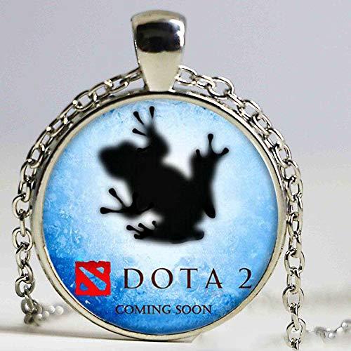 Damen-Halskette mit Anhänger Chihuahua-Motiv für Damen, ()
