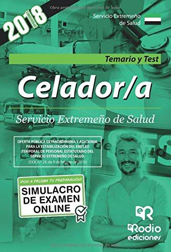 Celador/a del Servicio Extremeño de Salud. Temario y Test