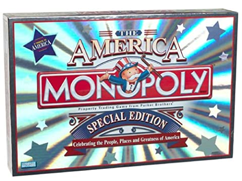 Monopoly ~ the America ~ Special Edition by Parker Brothers