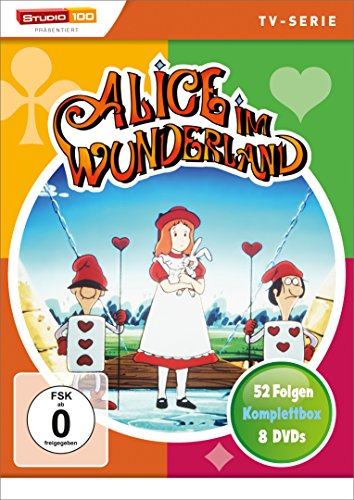 Alice im Wunderland - Komplettbox [8 DVDs] (Im Tv-alice Wunderland)