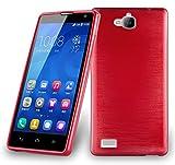 Cadorabo - Silikon TPU Schutzhülle für Huawei Honor 3C