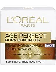 L'Oreal Paris Gesichtspflege Age Perfect Extra-Reichhaltig Gesichtscreme Nacht, 1er Pack (1 x 50 ml)