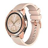 NotoCity Correa de Silicona Compatible con Samsung Galaxy Watch (42 mm) Pulsera Reemplazo para Gear Sport/Garmin Vivoactive 3 / Gear S2 Classic R732