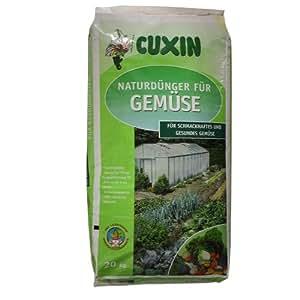 Cuxin Naturdünger für Gemüse Minigran, 20 kg