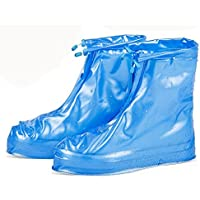 1 Paar Unisex Wasserdicht Überschuhe Regenschutz Schuhe-Abdeckung Atmungsaktiv