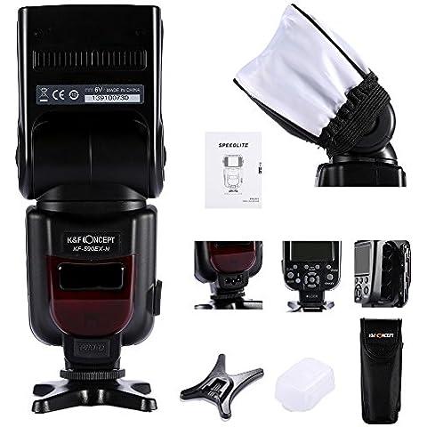 Flash, Flash Speedlite de K&F Concept® KF-590EX i-TTL Flash Speedlite para Nikon D5100 D5000 D3100 D3000 Nikon D40 D50 D70 D600 D7000 D600 Nikon D90 D7000 D5100 D3100 D700 D200