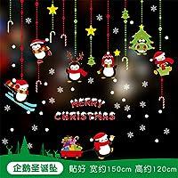 HAPPYLR Adesivo Albero di Natale Campo Aziendale Decorazioni per Negozi Adesivi  per finestre con Decorazioni Adesivi c7cb5efeaa09