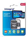 Best Digital Compact Cameras 2015s - Integral 64 GB microSDXC Class 10 Memory Card Review