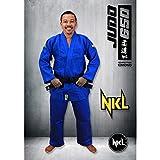 NKL Judogi competicion Kimono Judo 650gr Azul T-195