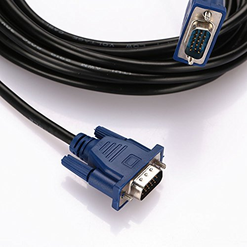 Video Line 15pin VGA Cable Premium Male To Male M M Cord HDTV