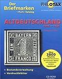 Der Briefmarken+Plus+Katalog Altdeutschland 2001, 1 CD-ROM 1849-1920. Für Windows 9x/NT/2000. Mit Bestandsverwaltung und Vordruckblättern