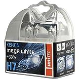 Unitec 77781 Hauptscheinwerferlampen H7 Xenon MegaWhite 12V 55W, 2er-Set