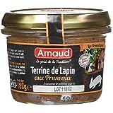 ARNAUD Terrine de Lapin aux Pruneaux 180 g - Pack de 12