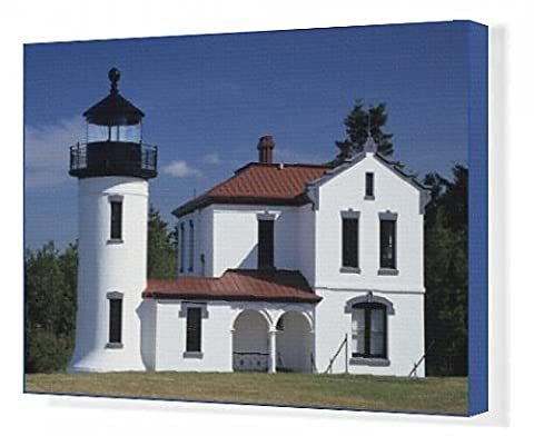 Canvas Print of WA, Fort Casey State Park; Admiralty Head