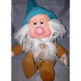 1993Snow weiß Sleepy Zwerg Snores Plüsch Vinyl Puppe Disney Toy