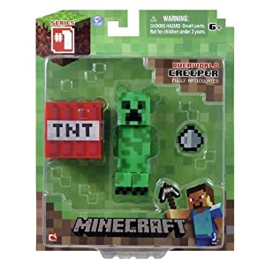 Minecraft – Creeper Figur mit TNT-Block