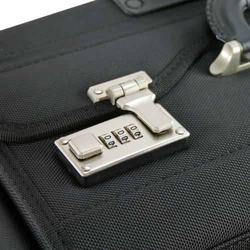 Dermata Pilotenkoffer Trolley 45,5 cm Laptopfach schwarz - 5