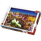 Trefl - 27081 - Puzzle - Las Vegas Dans La Nuit - 2000 Pièces