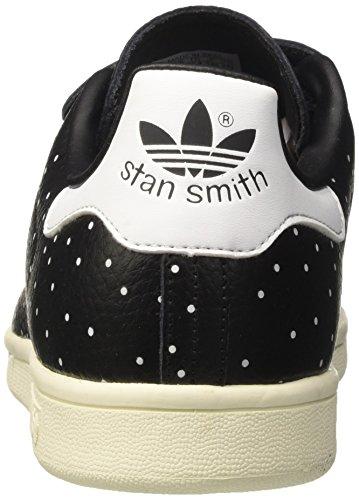 adidas BB5146, Scarpe Sportive Basse Stan Smith Donna Nero (Core Black/Core Black/Ftwr White)