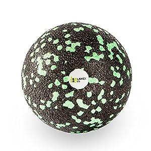 Balance Roll Faszienball (8cm) zur Trigger Point Massage – Kleiner Faszien Ball für Fitness-Training und Sport – Black Foam Kugel