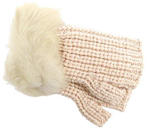 UGG Women's Crochet Gloves w/ Lurex/Sequins/Toscana Trim Freshwater Pearl Multi One Size