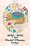 2020-2021 2-Year Pocket Planner Cat Naps: 24-Month Calendar Planner with Holidays 60-Month Planner Calendar | See it Bigger and Plan Ahead Goal and ... Better Performance, Bigger Results