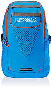 Woodland Polyester Blue Laptop Bag (TB 39)