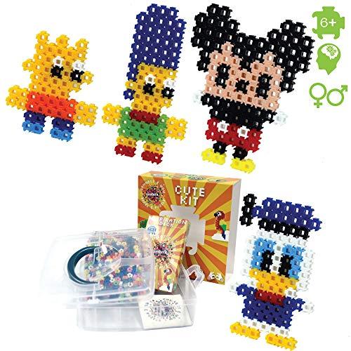 """Simbrix """"Cute Kit per Fan dei fusibili/Melty Beads–Non Richiede peg Board o Ferro"""