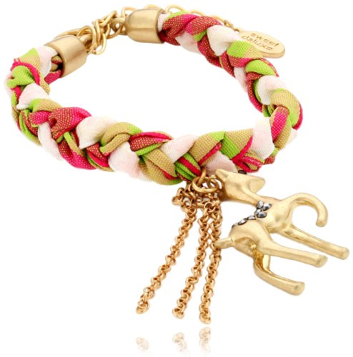 Sweet Deluxe Damen-Armband Messing Wiesn Tricolor Reh 2602 (Deluxe-armband)