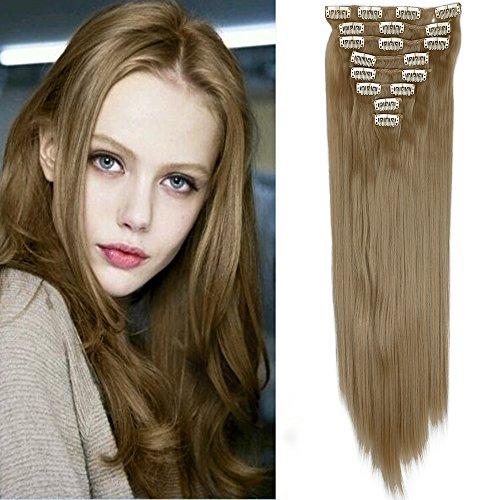 Clip de cabeza completa en extensiones de cabello