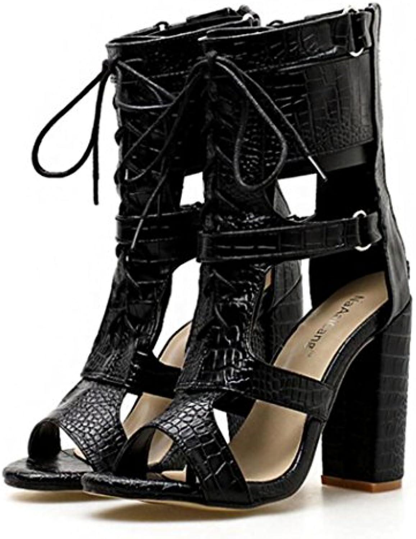 gaolixia des chaussures à bout les ouvert les bout sandales à talons creux de carrière chaussures cour chau ssures s oirée noire soirée b07fcgg1fv parent c748d8