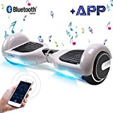 Windgoo Hoverboard 6.5' App&Bluetooth Balance Board Patinete Eléctrico Scooter Talla LED 350W*2