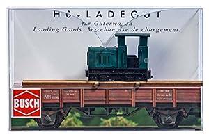 Busch 1686-Carga Bien Quemador Locomotora de Tren, Vehículo
