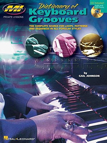 Dictionary Of Keyboard Grooves Kbd Book/Cd