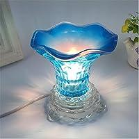 ZHIYUAN Piume di cristallo tazza di aromaterapia oli essenziali notte luce regali di oscuramento/fotografia piccola lampada da tavolo , 1 - Medio Dei Dipendenti Regalo