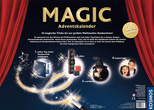 51TNjYgGRiL - KOSMOS 698867 - MAGIC Zauber Adventskalender, Spannende Zaubertricks und Zauber-Utensilien für die Adventszeit, Spielzeug Adventskalender zum Zaubern für Mädchen und Jungen ab 8 Jahren