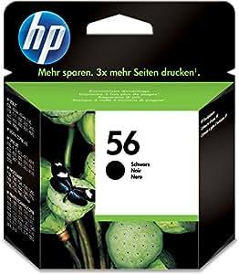 HP 56 Black Original Ink Cartridge (C6656AE)