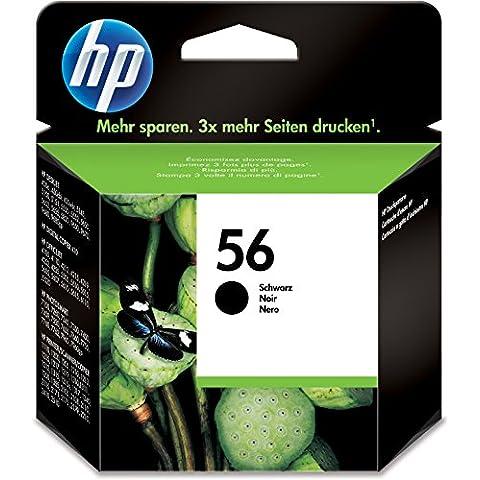HP C6656AE 56 - Cartucho de tinta, negro