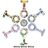 """'COM-FOUR Lot de montre d'infirmière """"NURSE Clock Montre Gousset avec 6différents dekoren en silicone"""