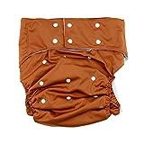 lukloy Herren Erwachsene Stoffwindeln für Inkontinenz Pflege schützende Unterwäsche–Dual-Öffnung Tasche waschbar wiederverwendbar verstellbar leakfr