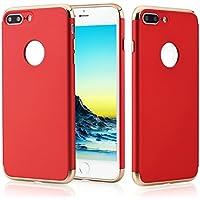 N. Oranie iPhone 7Plus e iPhone 7Plus Protezione Schermo Trasparente